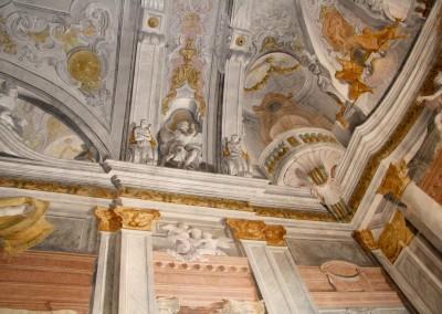 Ca' Rezzonico, affreschi sala da ballo