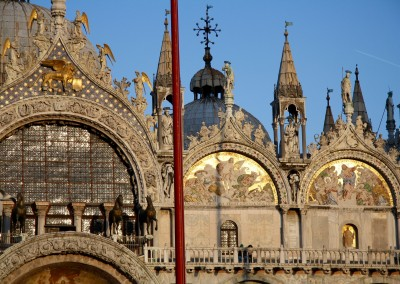 Facciata della Basilica di San Marco