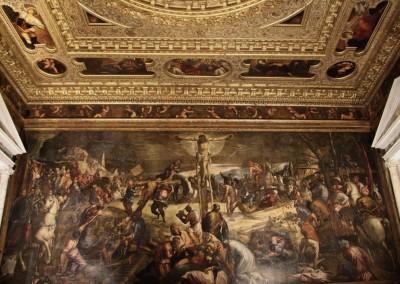 Scuola di San Rocco, Crocifissione di Tintoretto