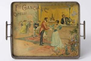 F.lli Gancia, tray dating back to 1900, Arona