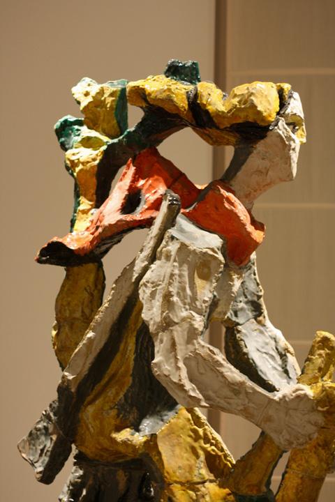 Leoncillo, Partigiana Veneta, Museo d'Arte moderna a ca' Pesaro, Venezia