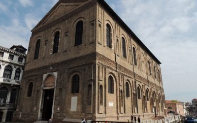 "The ""corintha machina"" of Scuola Grande della Misercordia in Venice is reborn"