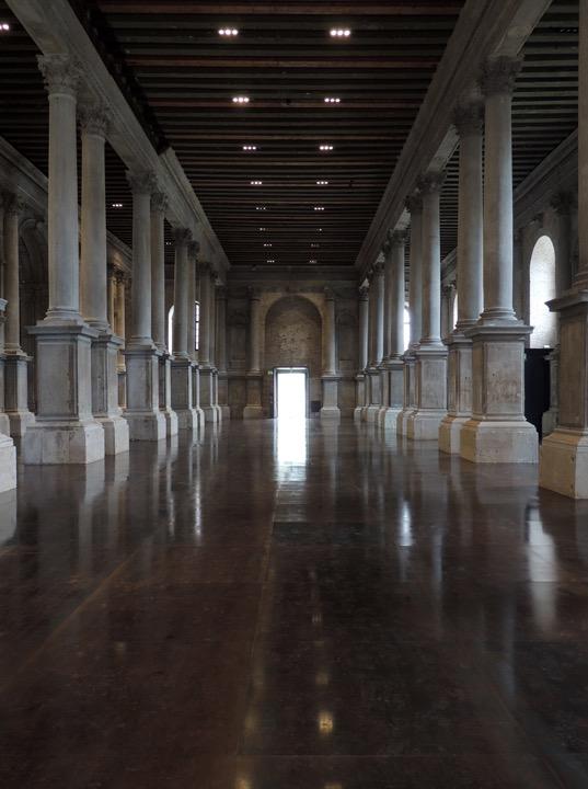 Venezia, Scuola Grande della Misericordia, dettaglio Sala pianterreno