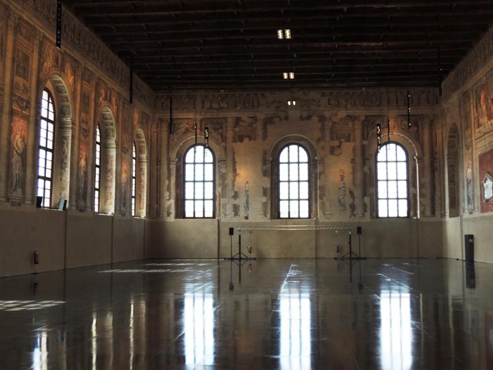 Venezia, Scuola Grande della Misericordia, dettaglio Sala capitolare