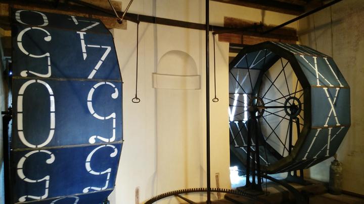 Venise, Tour de l'Horloge, les numéros