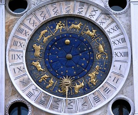 Venice, Clock tower, middle section
