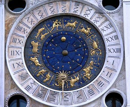 Venise, Tour de l'Horloge, le cadrant