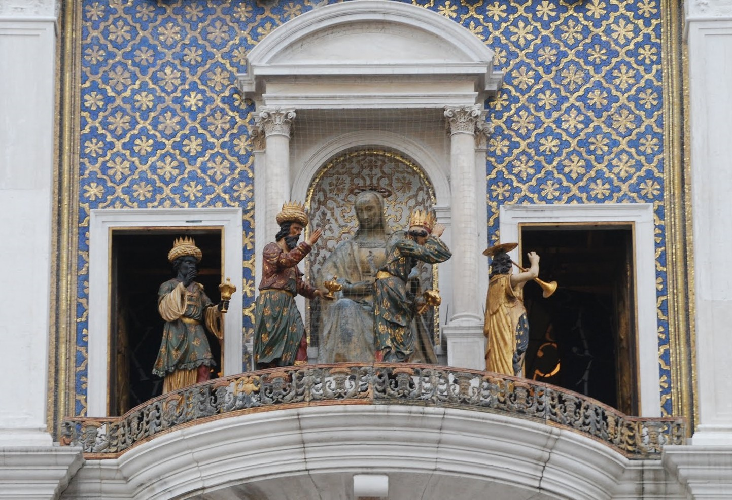 Venise Tour de l'Horloge, Les Mages