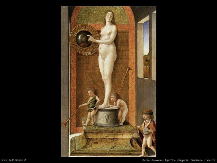 Giovanni Bellini, Allegory of Vanity, 1480-1500, Gallerie dell'Accademia, Venice (from settemuse: http://www.settemuse.it/pittori_scultori_italiani/bellini/giovanni_bellini_016_4_allegorie_prudenza_e_menzogna_1490.jpg )