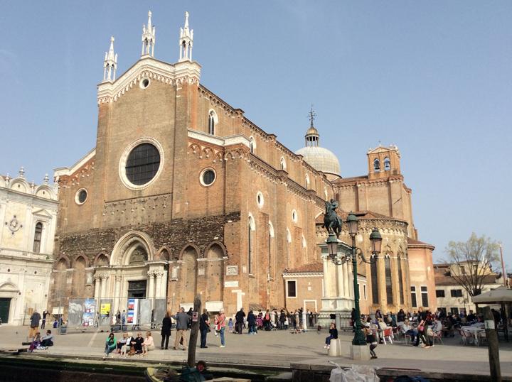 Campo Santi Giovanni e Paolo a Venezia