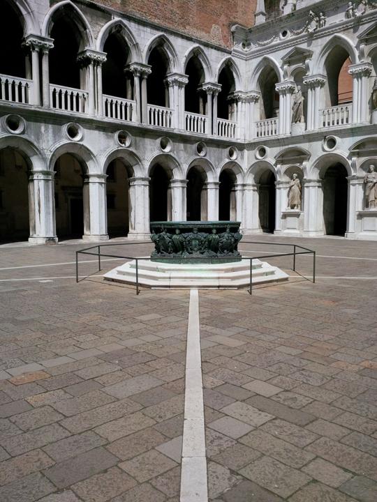 cortile palazzo ducale vera