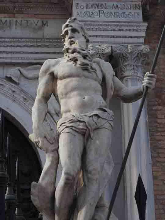 Arsenale a Venezia, Statua di Nettuno