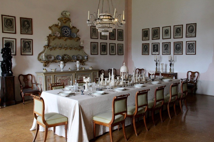 Stra, Villa Pisani, interni