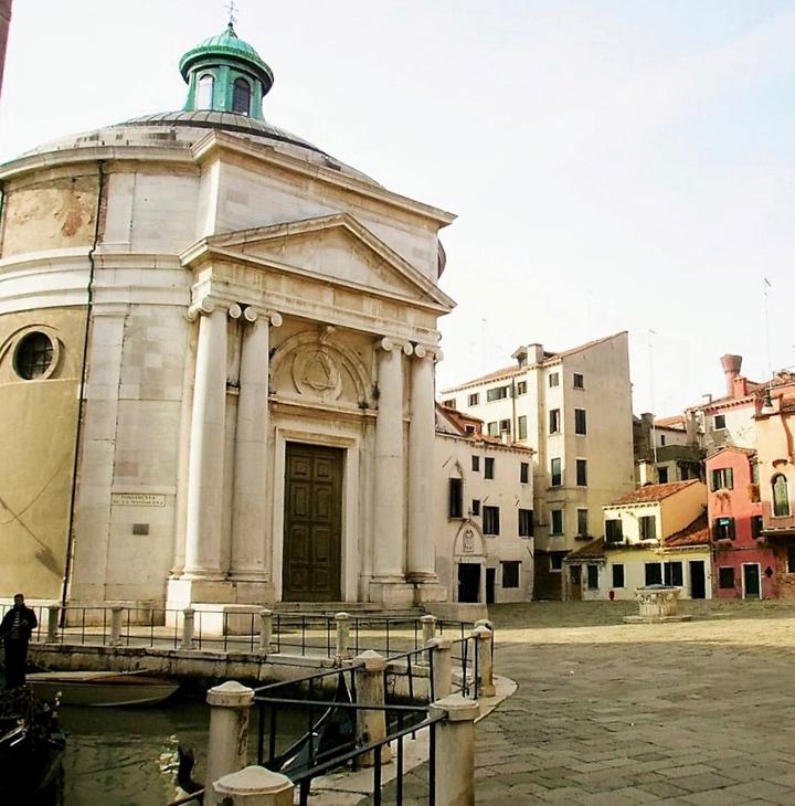 Venezia, Campo della Maddalena, la chiesa
