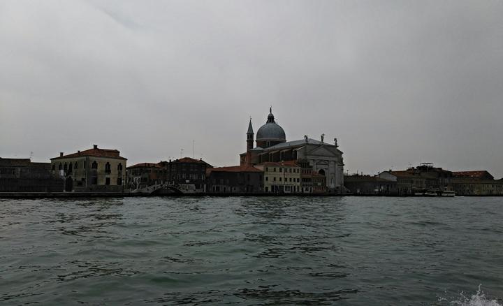 Venezia, Isola della Giudecca, Chiesa del Redentore, vista laterale