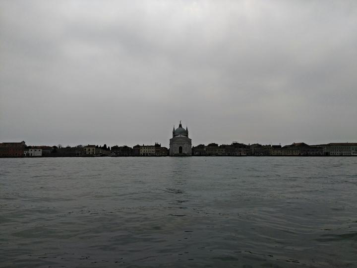 Venezia, Isola della Giudecca, Chiesa del Redentore, visione frontale