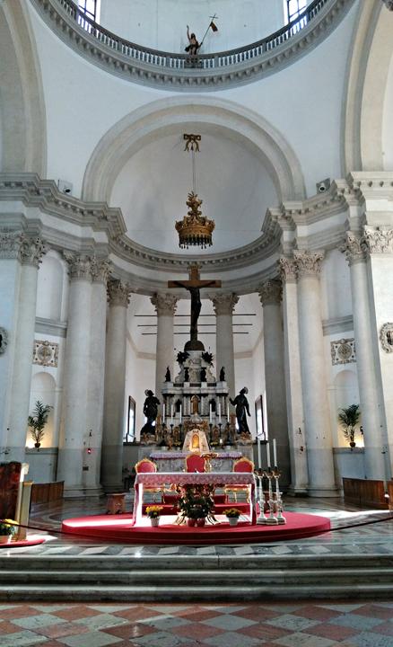 Venezia, Isola della Giudecca, interno della chiesa del Redentore