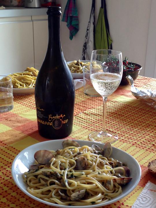 Ricette veneziane, spaghetti con le vongole