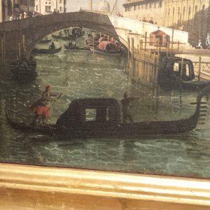 Bernardo Bellotto, Il rio dei mendicanti e la Scuola di San marco, 1740, gallerie dell'Accademia, Venezia