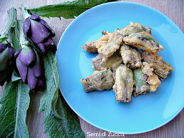 Sant'Erasmo: le castraure fritte