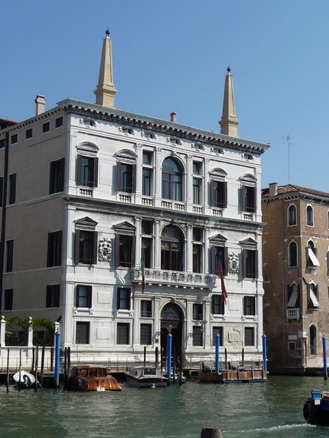 Venice, Palazzo Coccina Tiepolo Papadopoli