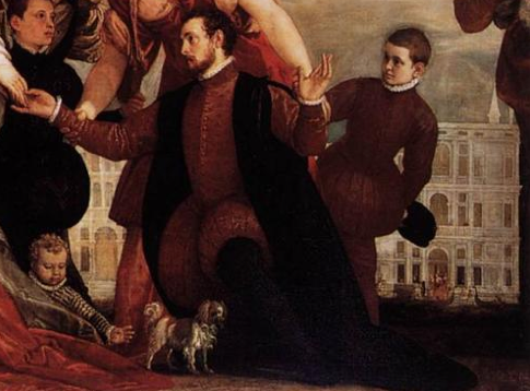 Paolo Veronese, Coccina Family, 1571, detail