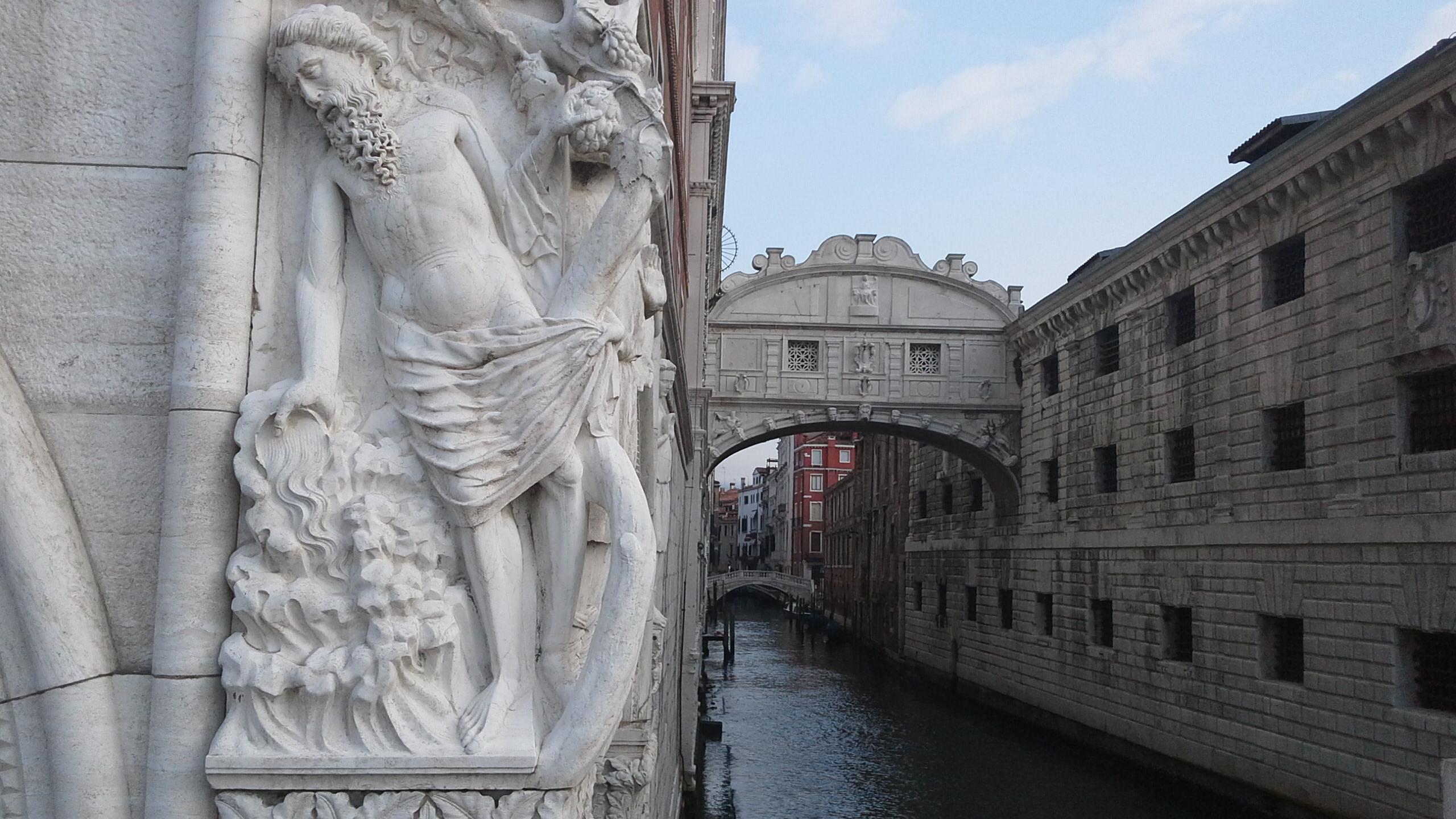 Ponte dei Sospiri, Ebbrezza di Noè, Venezia