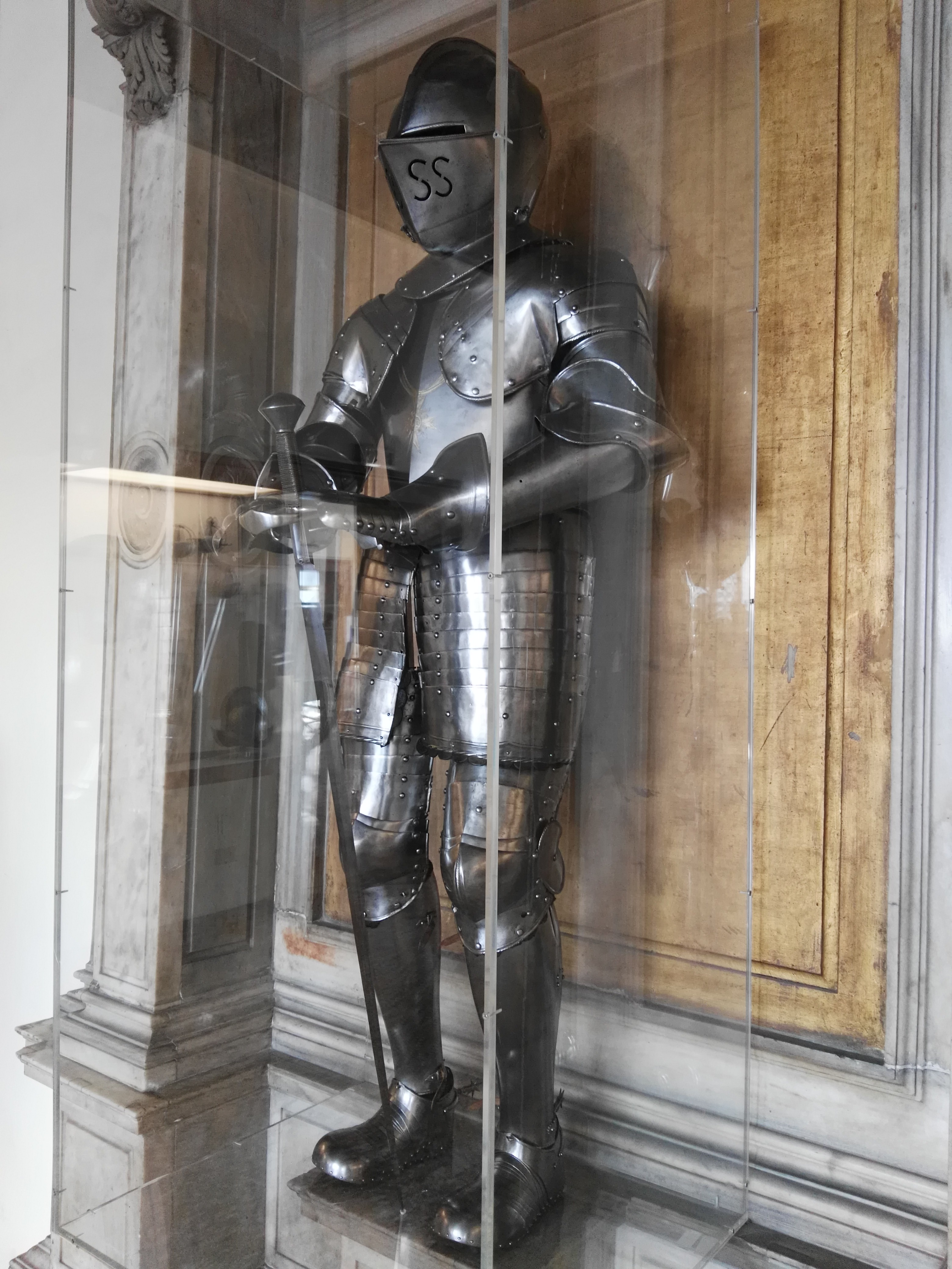 Armatura di Enrico IV di Francia, armeria di Palazzo ducale a Venezia