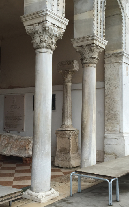 Venice, Roman inscriptions, Palazzo Loredan