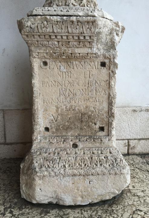 Venezia, Iscrizioni romane, Palazzo Loredan