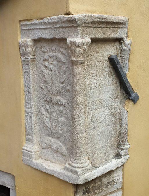Antiche iscrizioni romane a Venezia