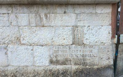 Ancient Roman inscriptions in Venice