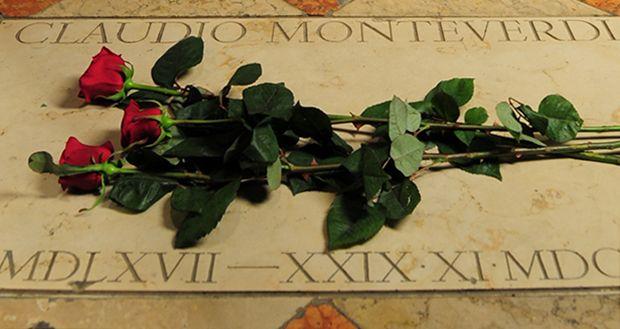 Venezia, Chiesa dei Frari, Tomba di Claudio Monteverdi