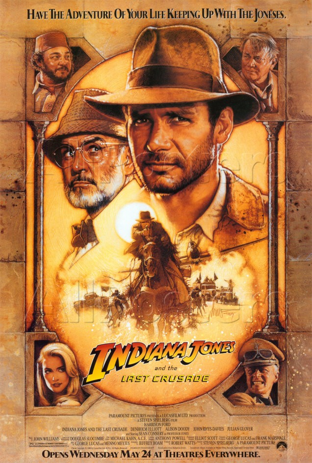 Indiana Jones e l'ultima crociata di Steven Spielberg