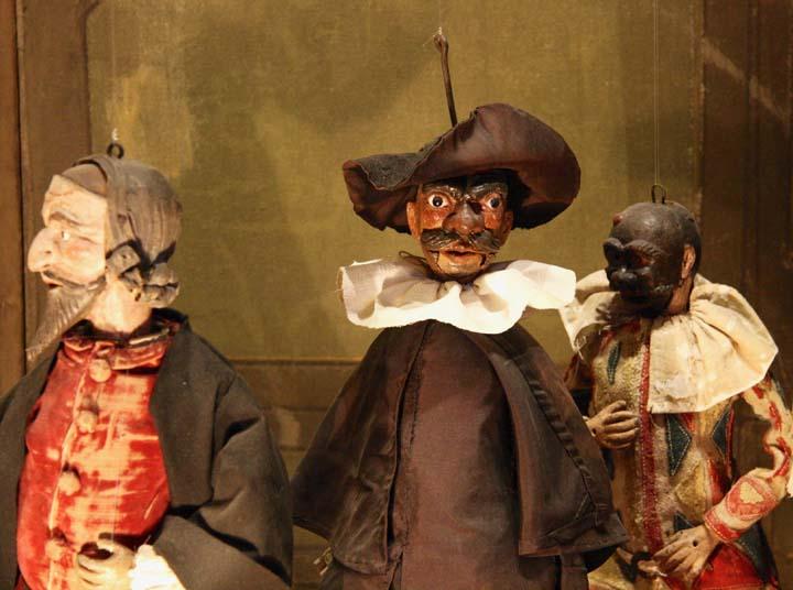 Ca' Centani : il teatro di marionette di Casa Goldoni a Venezia