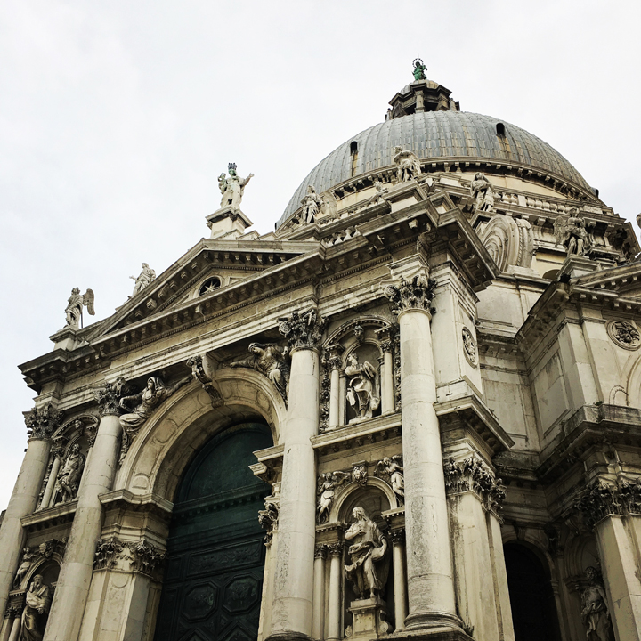 Venice, Church of Santa Maria della Salute, external view