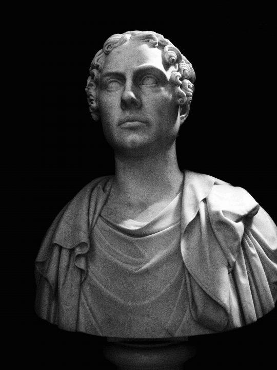 Lord Byron, Thorvaldsen, Thorvaldsen Museum, Copenhagen