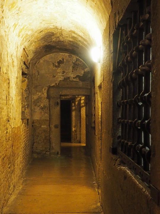 Le prigioni nuove di Palazzo Ducale a Venezia