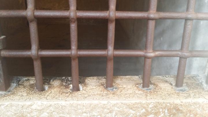 Finestra di una cella. Prigioni di Venezia