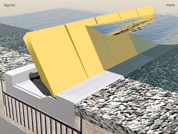 Venezia: il MOSE contro l'acqua alta