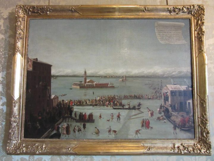 painting by Francesco Battaglioli, 1788, Ca' Rezzonico Museum