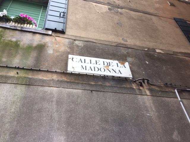 Calle della Madonna a Venezia