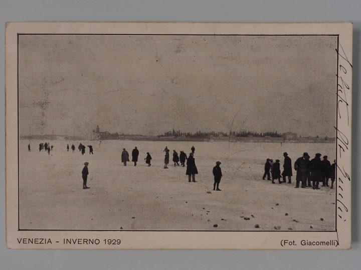 Postcard, Venice, 1929