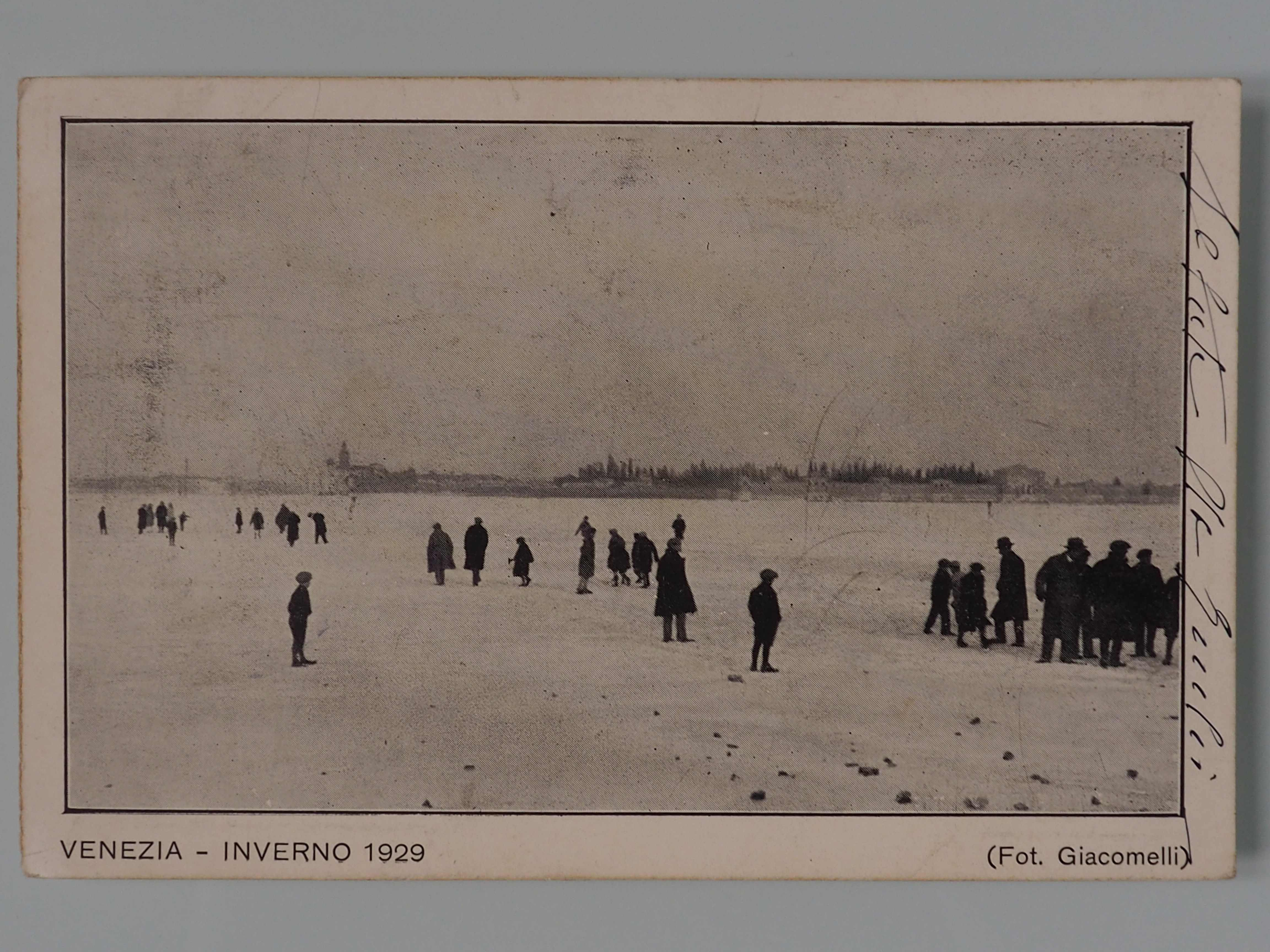 Открытка: Венеция, 1929 г.