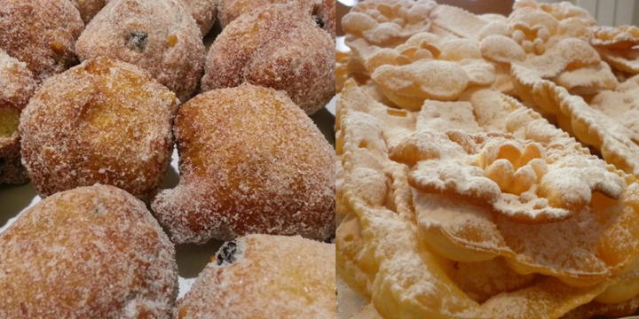 Frittelle e galani nel Carnevale veneziano