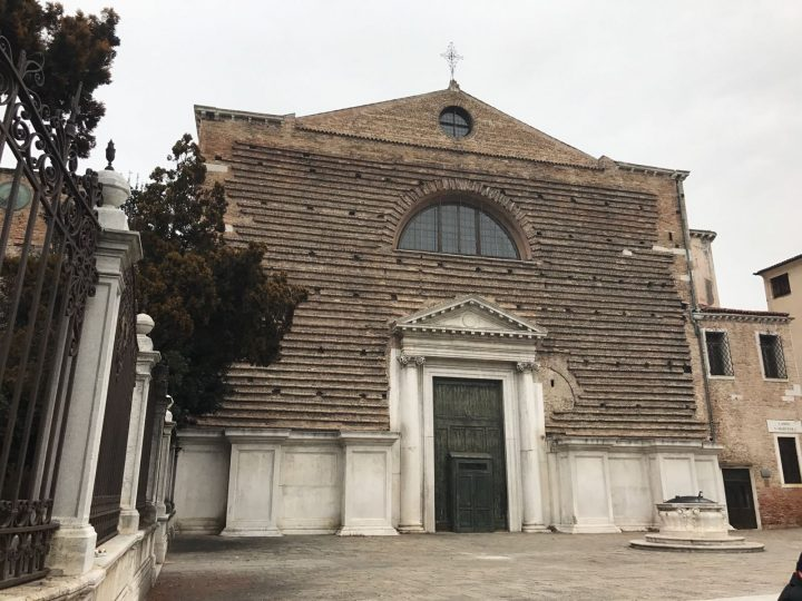 the façade of San Marcuola in Venice