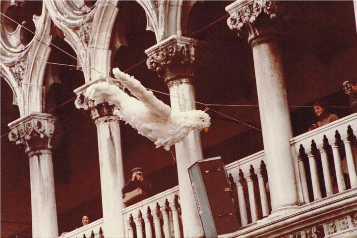 Il volo della Colombina in piazza San Marco, Carnevale di Venezia