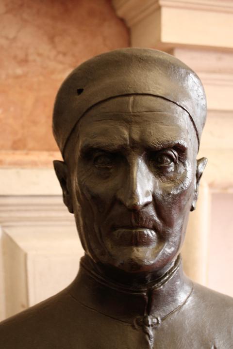 Busto in bronzo di Antonio Grimani come procuratore, attribuito al Riccio