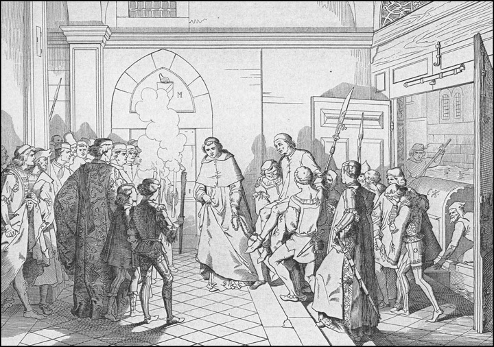 Giuseppe Gatteri, The trial against Antonio Grimani, 1862