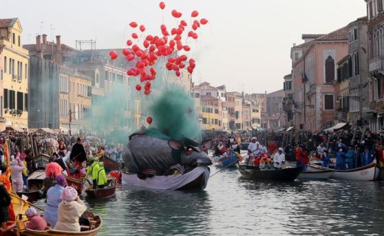 Pantegana-rat, Venice Carnival